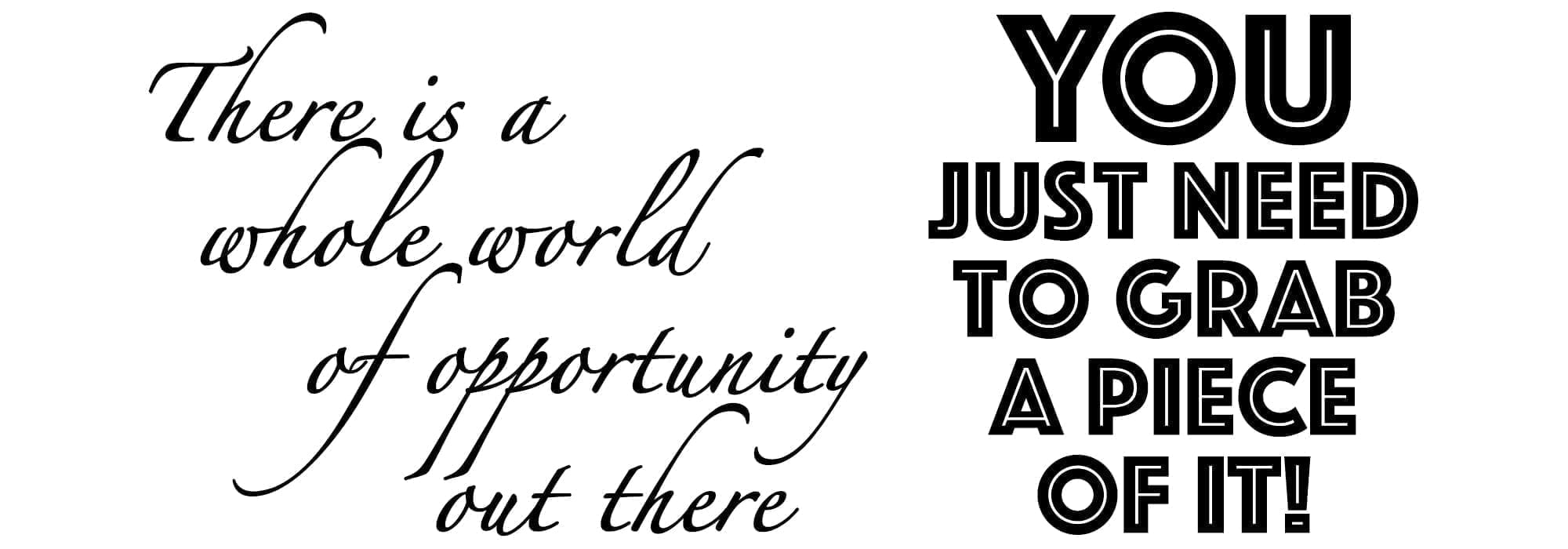 There is a whole world of opportunity out there - Seventa Makeup Academy